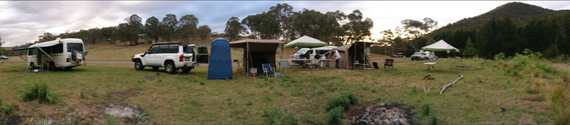Token campsite 